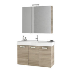 "40"" Larch Canapa Bathroom Vanity Set"