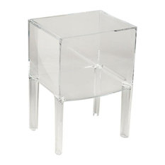 Small Ghost Buster Side Table Crystal