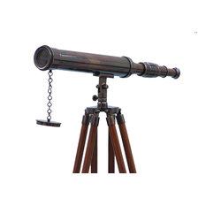 Floor Standing Oil Rubbed Bronze Harbor Master Telescope 50''