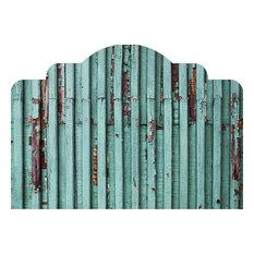 turquoise bedroom furniture. WallsNeedLove  Distressed Turquoise Adhesive Headboard King 76 x38 Headboards Bedroom Furniture Houzz