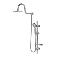 AquaRain ShowerSpa Shower System, Chrome