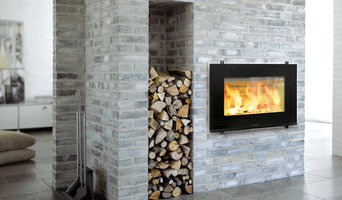 Modern Euro Wood Fireplace and Stove