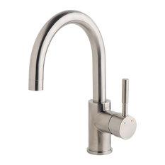 Dia Single-Handle Single Hole Bar Faucet, 1.5 gpm, Satin Nickel