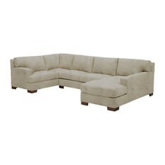apt2b bradbury 3pc sectional woven gravel chaise on left sectional sofas big boys furniture