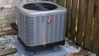 New Rheem Heat Pump Installation