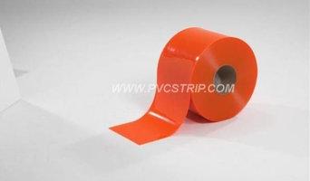 Orange Safety PVC