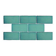 "SomerTile 3"" x 6"" Antic Special Ceramic Wall Tile, Case of 32, Vert"