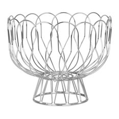 Wired Fruit Bowl, Chrome