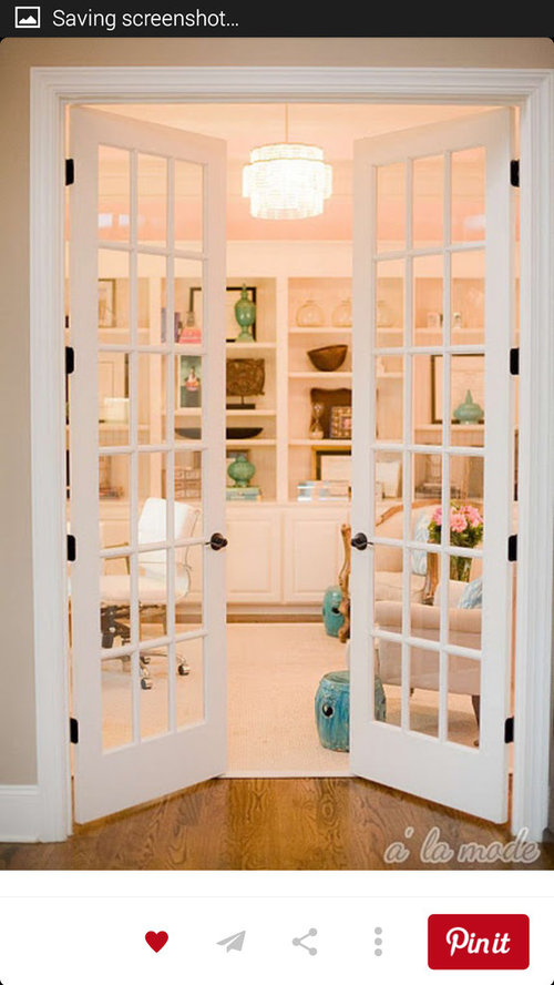 Is It Crazy To Install French Glass Doors Leading To A Guest Bedroom