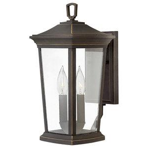 2-Light Medium Wall Lantern, Oil Rubbed Bronze