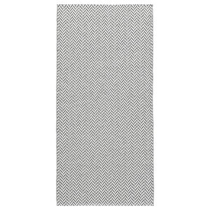 Ola Woven Vinyl Floor Cloth, Grey, 70x200 cm