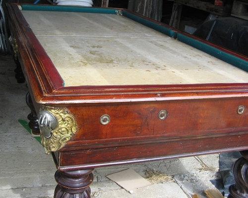 Antique Italian Pool Table - Italian pool table