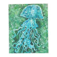 "Jellyfish Canvas Art, 16""x20"""