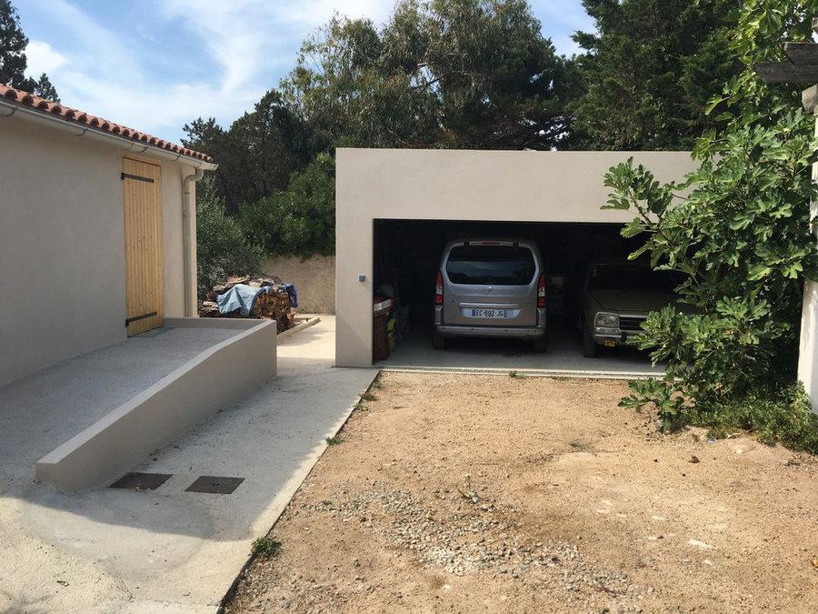 extension et rehabilitation d'une Villa à Pietrosella -Corse