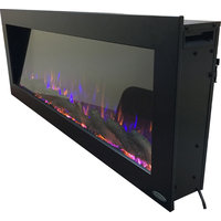 "Touchstone Sideline 50"" Outdoor Wall Mounted Electric Fireplace"