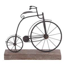 "Vintage Style Reflections Metal Wood Bicycle 16""x14"" 51873"