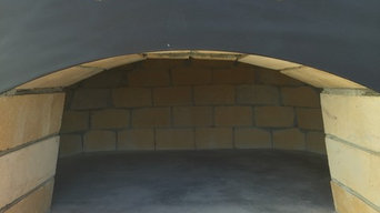 Family size patio ovens