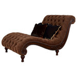 A.R.T. Furniture - A.R.T. Home Furnishings Accents Cheetah Chaise - The Cheetah Chaise offers an elegant air with nailhead trim, cheetah print and tufted buttons. Place this statement piece in your living space for high traditional style. Its sturdy construction and ornate design provide a luxurious and comfortable feel.