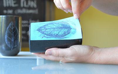 Hazlo tú mismo: Transforma piezas cerámicas mediante serigrafiado