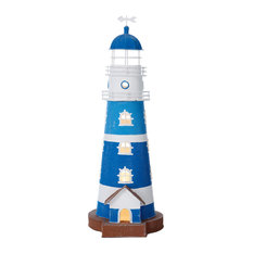 Shades of Blue Lighthouse Table Lamp