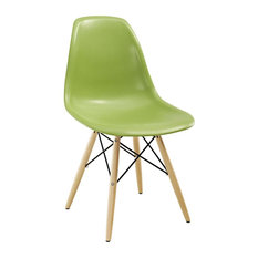 Pyramid Dining Side Chair, Light Green
