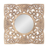 Arabesque Carved Mirror