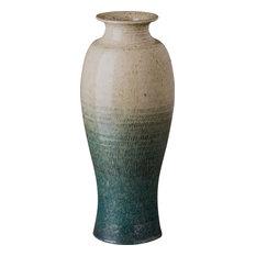 Tall Shoulder Vase, Bayside Green