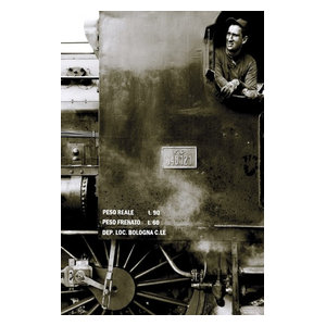 "Pixtury ""La Locomotiva"" Photo Print, Canvas, 40x60 cm"