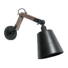 - Lámpara de pared industrial Edison | Maisons du Monde - Apliques articulados