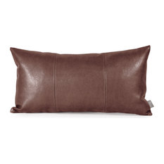 Howard Elliott Avanti Kidney Pillow, Pecan, Polyester Insert
