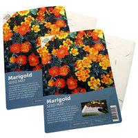 French Marigolds Flower Mat, 2-Pack