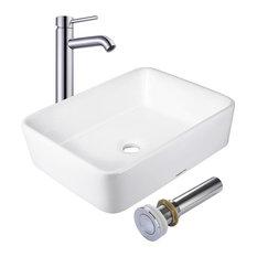 Bathroom Sinks Porcelain porcelain bathroom sinks | houzz