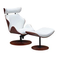 Fine Mod Imports Luxur Lounge Set, White