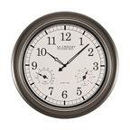 "La Crosse Technology WT-3181PL-INT 18"" Atomic Outdoor Clock"