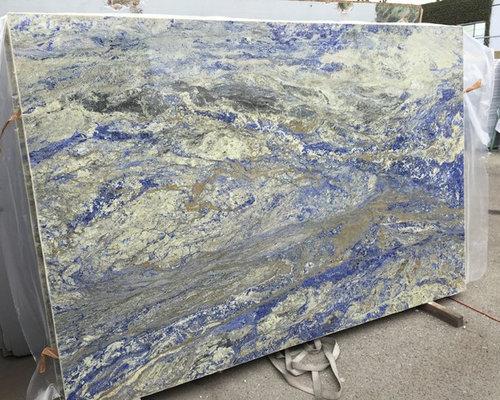 Blue Sodalite Exotic Quartzite Granite Slab