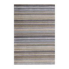Carter Grey Runner Plain Rug, 60x230 cm