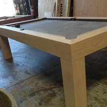 Modern Parsons Style Pool Table