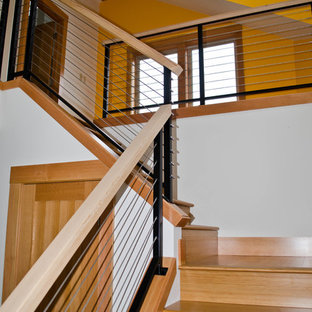 Example of a trendy home design design in Portland