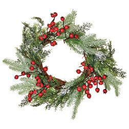 Farmhouse Wreaths And Garlands by WORTH IMPORTS
