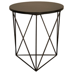 Ideal Transitional Side Tables And End Tables by Noir