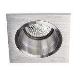 Soley 1-Light Recessed Spotlight, Brushed Aluminium