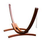 Natural Wood Arc Stand, 15