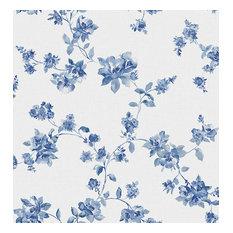 Wen Sapphire Festival Floral Wallpaper, Bolt