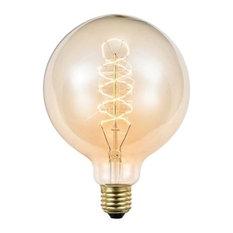- Globe De Lux glödtrådslampa - klar - Lampskärmar