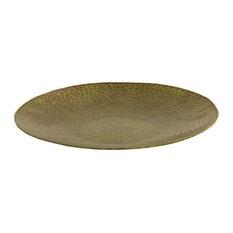 Elk Aluminum Charger Plate TRAY062, Antique Copper