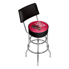 Captain Morgan Swivel Bar Stool With Back