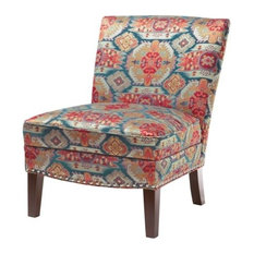 Hayden Slipper Accent Chair, Red