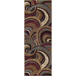 Contemporary Hall & Stair Runners by Tayse Rugs
