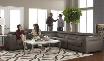 B 790 Leather Sectional by Natuzzi Editions
