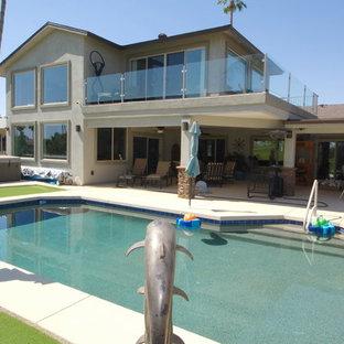 Southwest home design photo in Phoenix